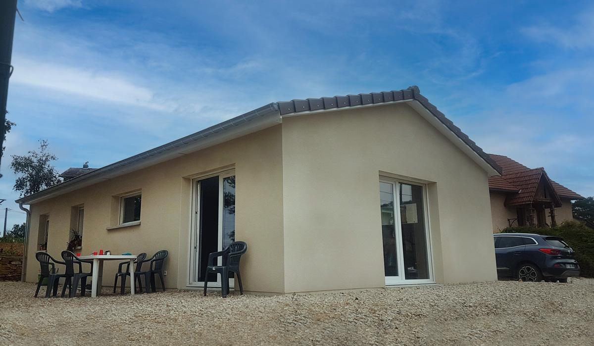 construction maison pouligney